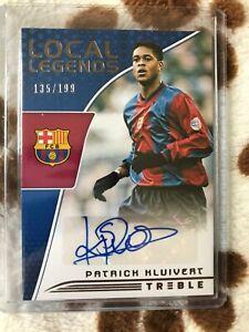 Panini Patrick Kluivert auto card* 135/199