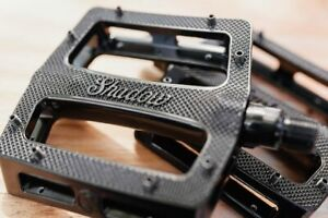 SHADOW CONSPIRACY METAL ALLOY BMX BIKE PEDALS SUBROSA KINK HARO SE CULT GT BLACK