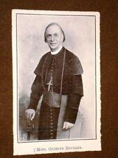 Monsignore Giuseppe Ricciardi Morto nel 1908