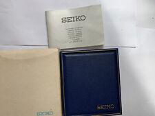 Vintage Seiko Reloj amty caja hecho en Reino Unido 1980s