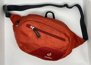 Deuter Belt Organizer Belt Belt Bag Waist Bag Belt Bag Hip Bag 86368 Orange/red