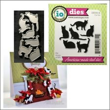 Cat set steel metal die set Impression Obsession Cutting Dies DIE083-K Animals
