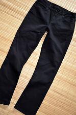 HALLHUBER wunderschöne Jeans Hose Gr. 40 Cropped Straight Leg Schwarz