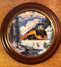 """Hamilton Train Plate Collection """"Daylight Run"""" Limited Plate Nr. 4207A"""