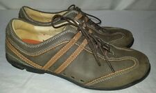 Women's Clarks Unstructured Brown Casual Shoes Size 7 US 5D UK
