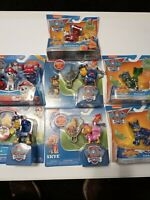 PAW PATROL Extendable Hook Badge Clips and Mighty Pups Super Paws- SET OF 7 -
