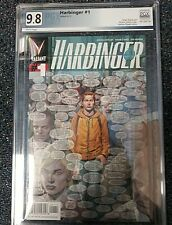 Harbinger #1 Valiant Comic 6/12 PGX 9.8
