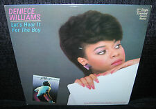 DENIECE WILLIAMS Let's Hear It For The Boy (1984 US Picture Cover Promo 12inch)