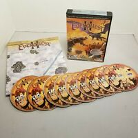 Everquest II with Kingdom of Sky Expansion PC game CD-ROM complete NEW