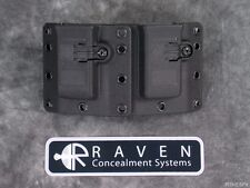 Raven Concealment Copia 9 40 357 Universal Double Magazine Mag Tall Holster