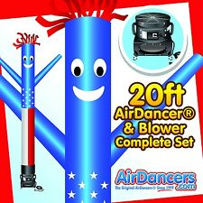American Flag Air Dancer® & Blower 20ft Complete Sky Dancer Set
