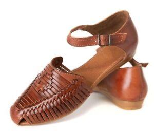 Women's MEXICAN SANDALS ESPECIAL FLATS Chedron Huarache Sandals LMS1123