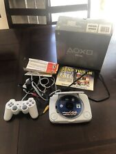 Playstation 1 PS One System Console - Slim Mini - Tested & Working 007 Game