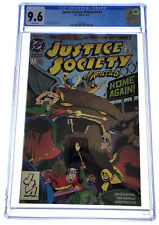 Justice Society of America #1 CGC 9.6 DC Comics Aug 1992 White pages