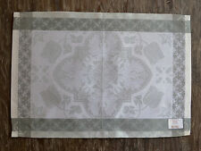 Le Jacquard Francais Azulejos Grey Placemats - Set of 4