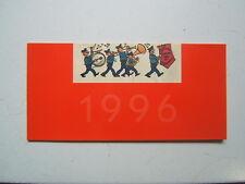 HERGE  /  TINTIN  CARTE DE VOEUX   STUDIOS HERGE  1996