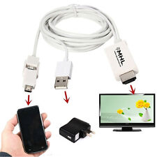 1X For Android Cell Phone Micro USB MHL to 1080P TV Cable Adapter MHL to HDMI US