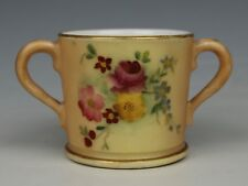 Antique 1906 Royal Worcester Miniature Cup WorldWide