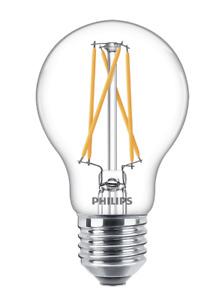 Philips Edison Screw Warm White Ceiling Light Bulb Lamp E27 470Lm LED 6.7W GLS