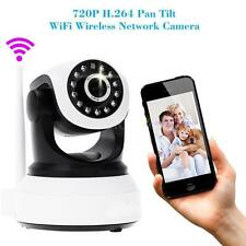 Wireless Pan Tilt 720P Network Security CCTV caméra Night Vision WIFI Webcam CO