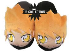 BLEACH ICHIGO CIABATTE pantofole peluche kurosaki cosplay doll slippers manga