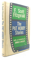 F. Scott Fitzgerald THE PAT HOBBY STORIES  1st Edition 1st Printing