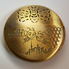 Gold Vintage Style Cover Portable Metal Hand Warmer Foot Warmers For Winter Warm