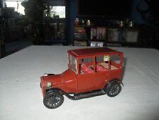 Vintage Bandai Japan Tin Litho Friction 1915 Ford Model T Old Timer Car