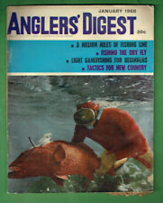 #T87.   ANGLER'S DIGEST,  JANUARY 1968