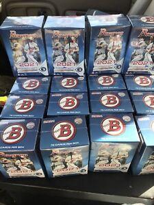 2021 TOPPS BOWMAN Baseball BLASTER BOX 20 BOX LOT Factory Sealed Retail 72 cards