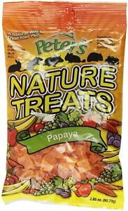 Peter's Nature Treats Papaya - 2.85 oz