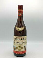 Barolo  1969 Marchesi Di Barolo  Vino Rosso (72cl,13%)