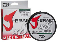Daiwa X8 J Braid 300M Dark Green
