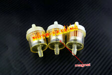 "Honda ATV Motorcycle Inline GAS Carburetor Fuel Filter 6mm-7mm 1/4"" ENGINE 3PCS"