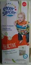 NEW BABY ACTIVE EXERSAUCER DOOR JUMPER / DEVELOP MOTOR SKILLS / UNISEX COLORS
