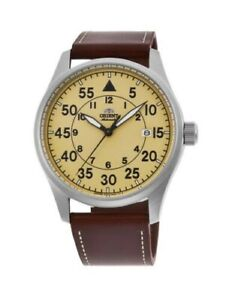 Orient Flight Automatic Watch RA-AC0H04Y10B with upgraded strap: Mint!