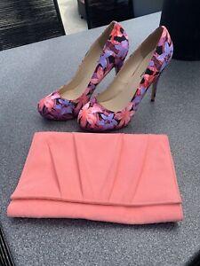 Gorgeous Michael Antonio Heels And Betts Clutch