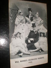 More details for old postcard will morris celebrated pierrots 1908
