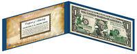 WEST VIRGINIA State $1 Bill *Genuine Legal Tender* US One-Dollar Currency *Green