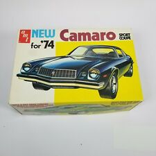 1974 Vintage AMT New Chevy Camaro Sport Coupe T388 Box Model Kit