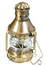 Vintage Brass Navy Ship Oil Lantern Oil Kerosene Burner Old Style Burner Oil Lam