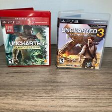 New listing Uncharted: Drakes Fortune & Deception Bundle PlayStation 3 PS3 Greatest Hits CIB