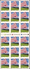 US Stamp - 1995 Flag Over Field - Booklet Pane of 18 Stamps #2919a