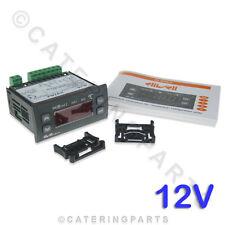 ELIWELL IC974LX 12V 12 VOLT DIGITAL FRIDGE THERMOSTAT REFRIGERATION CONTROLLER