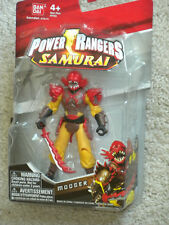 "POWER RANGERS Samurai MOOGER 4"" Action Figure #31506 New in Package 2011 Bandai"