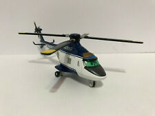 Disney Pixar Planes Diecast Very Rare Police Helicopter Patrol With Hook 7""