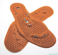 Unisex Magnet Massage Deodorant Silicone Gel Insoles Pad Shoes Insert Cushion