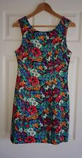Women's smart Casual Floral Colourful Shift Dress Dresses by LIPSY size 12 uk