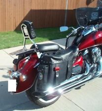 Studded Sissy Bar/Backrest/Luggage Rack - Kawasaki Vulcan 900 VN900