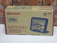 BRAND NEW & BOXED! Sharp MT270H MDLP Portable MiniDisc Recorder & Player